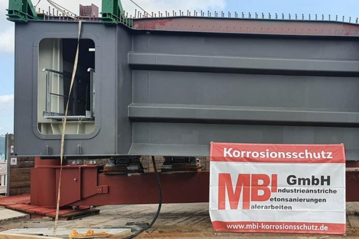 MBI-Korrosionsschutz-Referenz A1 Ersatzneubau Schwelmetalbrücke