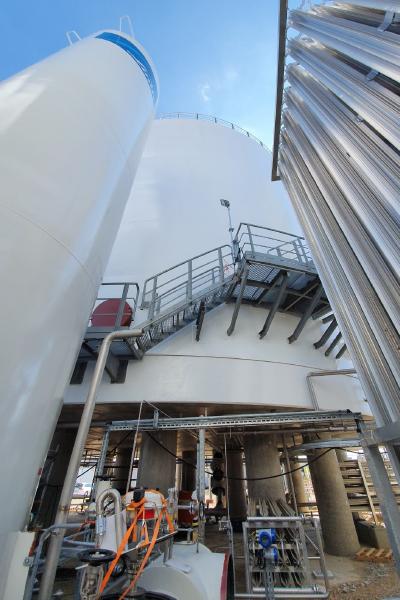 MBI-Korrossionsschutz-Gasbehälter-Linde Gas