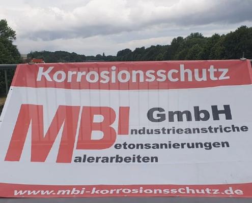 MBI-Korrossionsschutz-Grösste Schrägseilbrücke A40